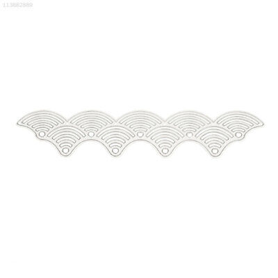 BA8A Wave Embossing Card Cutting Stencil DIY Paper Crafts Album Decoration Mold
