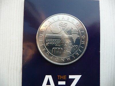 Ten Pence 10p A-Z Completer Medal 2018 Alphabet Collector's Medal Coin Hunt New.