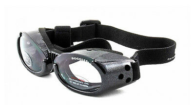 SUNGLASSES FOR DOGS by Doggles - GRAY COLOR - EXTRA SMALL