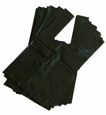 50 Extra Large Double Thick Strong Doggy Poo Bags Roll Tie Handles 30cm x 36cm