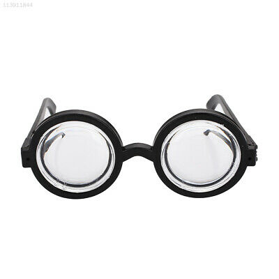 6DAD Plastic Bookish Glasses Dress Up Glasses Halloween Party Cosplay Christmas