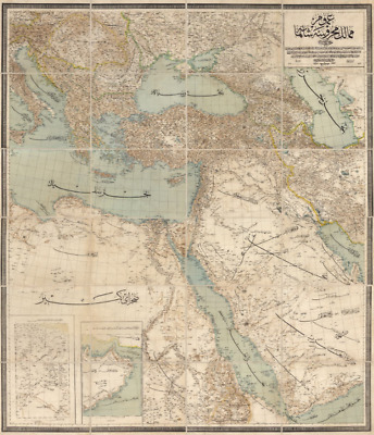 ETHNOGRAPHIC MAP OF Russia (Extreme Definition PDF) 1878