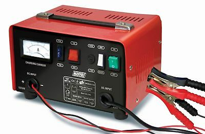 Maypole MP716 12 & 24 V Volt Battery Charger Metal Case Car Van Commercial 12 A