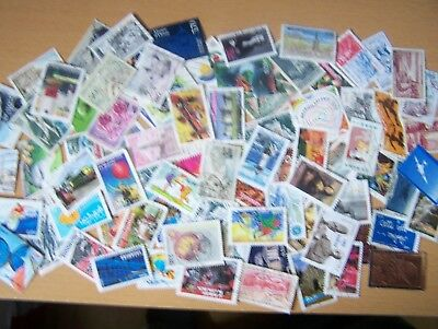 100 Different France Commems & Large Pictorials Only,Older And Modern,Used.