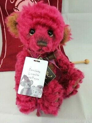 SPECIAL OFFER! Charlie Bears Isabelle Mohair PERNICKETY No 23/400 (RRP £145)