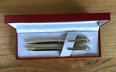 Sheaffer Vintage Gold Plated Pencil And Pen Set Size 70 Pencil - Retractable