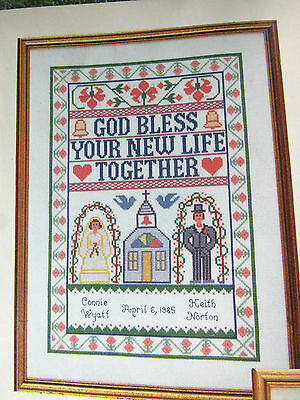 Family SENTIMENTS BLESSINGS POEMS PRAYERS  Cross Stitch PATTERNS  Gloria & Pat