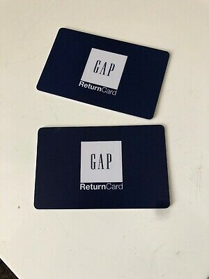 Gap Gift Vouchers. 2 Cards Totalling £45.