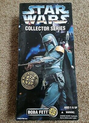 "Star Wars Boba Fett 12"" Collector Series Action Figure, never opened"
