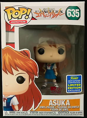 SDCC 2019 FUNKO POP! Animation: Neon Genesis Evangelion - ASUKA #635 OFFICIAL!