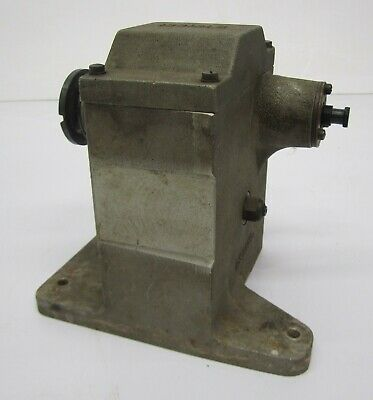 Vtg Gear Speed Reducer Reductor Machine 21:1 Stage Set Animatronic Prop Tool