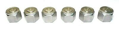 Swagelok Stainless Steel Plugs / Caps. SS-810-P. 1/2 Inch. Quantity 6. Brand New