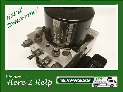 VW Golf, Leon, A3 ABS Pump ECU Unit 1K0614517CB *** 3 MONTH WARRANTY ***