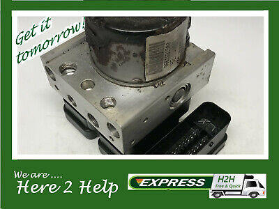 Peugeot 207 / Citroen C2 C3 ABS Pump ECU Unit 9661691580 *** 3 MONTH WARRANTY **