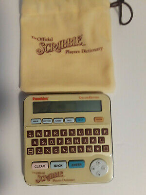 Franklin Electronic The Official Deluxe Scrabble Players Dictionary SCR-228