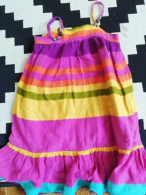 GIRLS baby GAP KIDS holiday striped summer PARTY DRESS AGE 2 - 3 YEARS