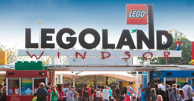 Legoland Windsor Resort Tickets - x2 - Adult or Child - FRIDAY 11TH OCTOBER 2019