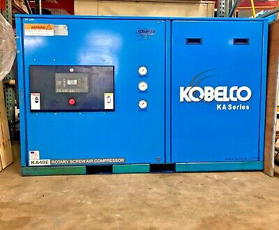 KOBELCO ROTARY SCREW Air Compressor - $14,000 00 | PicClick