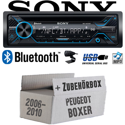Sony Radio for Peugeot Boxer from 2006 Bluetooth CD/Mp3/USB