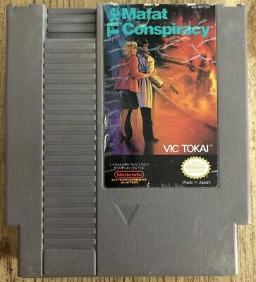 The Mafat Conspiracy - Nes ( Nintendo Entertainment System ) Game Only !