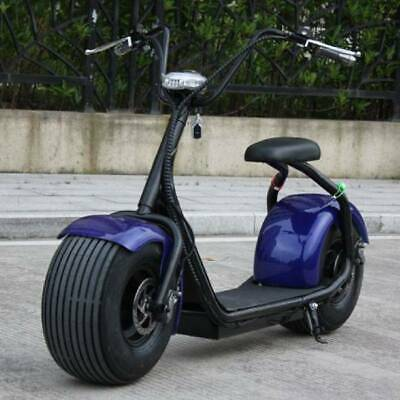 """Stuff Certified ® City Coco Smart E Electric Scooter Harley - 18 """"- 800W - 12Ah"""