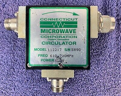 Connecticut Microwave Circulator