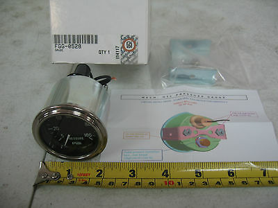 Universal Commercial Semi Truck Mechanical Oil Pressure Gauge PAI # FGG-0528
