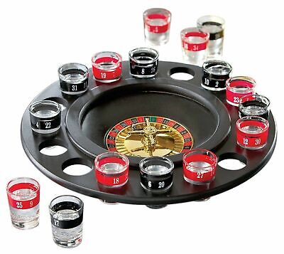 HUJI Roulette Glass Shots Drinking Game Fun Adult Party Gift Cups Drinks