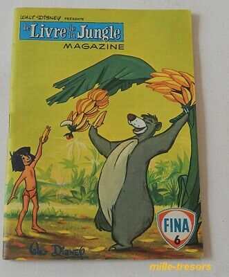 Le LIVRE de la JUNGLE Magazine N°6 - WALT DISNEY Productions 1968 - FINA - BD