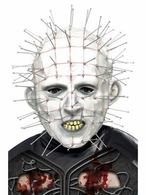 Mask Horror Latex Pinhead Maschera Lattice Hellraiser III Smiffy's Art.20496