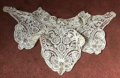 Antique/Victorian Lace High Neck Collar