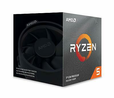 AMD Ryzen 5 3600X 6-core, 12-Thread Unlocked Processor with Wraith Spire Cooler