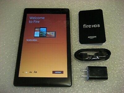 "*Ads Free* Amazon Kindle Fire HD 8 (2018, 8th Generation) 32GB Wi-Fi 8"" Tablet"