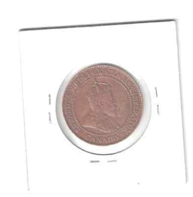 1910 Canada 1 cent Large Penny