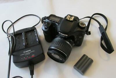 Canon EOS 40D 10MP Digital-SLR DSLR Camera +EF-S 18-55mm Lens - WORKING ORDER !!