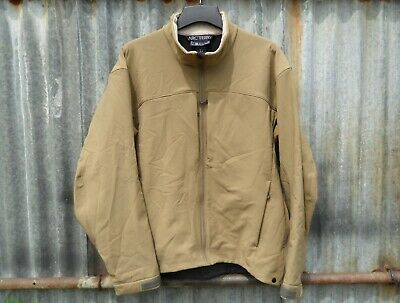 Genuine British Army Special Forces Issue Arc'teryx Vertx Soft Shell Jacket Xl