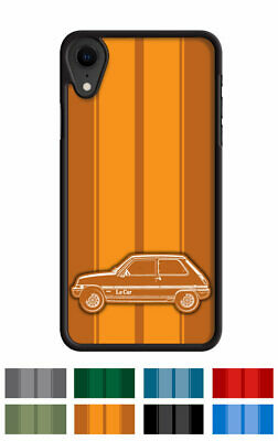 """Renault 5 LeCar Le Car """"Stripes"""" Cell Phone Case Apple iPhone and Samsung Galaxy"""