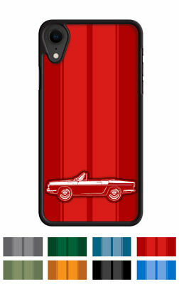 """Renault Caravelle Floride Convertible """"Stripes"""" Phone Case iPhone Samsung Galaxy"""