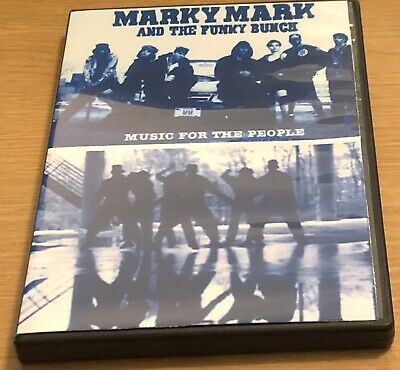 MARKY MARK AND THE FUNKY BUNCH (Mark Wahlberg) TV Music Footage DVD (1991-1993)