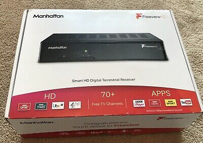 Manhattan Plaza HD-T2 Freeview HD Box