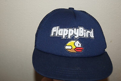 Flappy Bird Score Under Brim Snapback Adjustable Baseball Hat