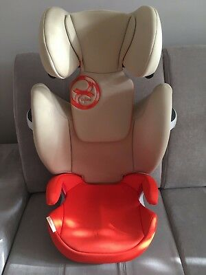Cybex Toddler Child Car Seat Solution M Fix Autumn Gold