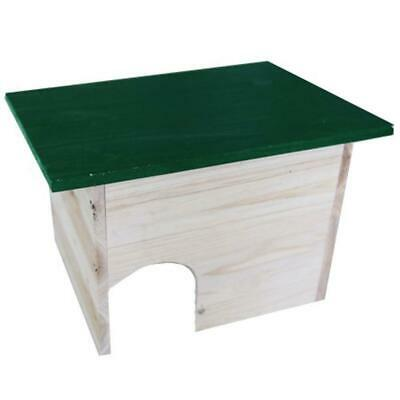 Wooden Hedgehog House Garden Shed Pet Home Safe Place Easy Assembly Cosy Unit