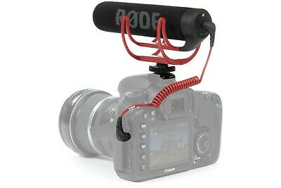 New Rode VideoMic GO Light Weight On-Camera Microphone Rycote Lyre Shock Mount