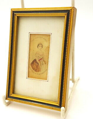 18th century Miniature Portrait of Princess F.W. of Prussia engraving .