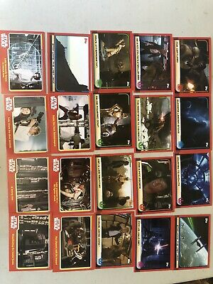 Star Wars Trading Cards Journey To The Last Jedi And Force Awakens X20 Cards