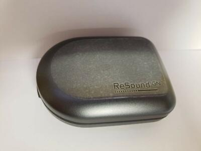 Original GN Resound Hearing Aid Case Grey Protective Travel Container USA SELLER