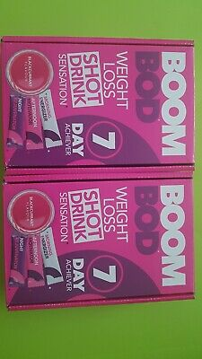 2 X BOOMBOD 7 Day Achiever 21 Sachets / BOOM BOD /  FREE POSTAGE
