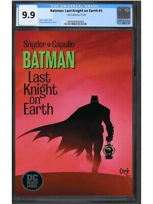 BATMAN: LAST KNIGHT ON EARTH #1 1st PRINT DC COMICS CGC 9.9 MT.