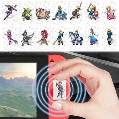 22 Pcs/Set NS Game Cards NFC Tag Cards BOTW Link Characters Game Card Toys US